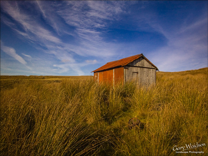 Feed shed in Birkdale. Landscape photography by Gary Waidson.