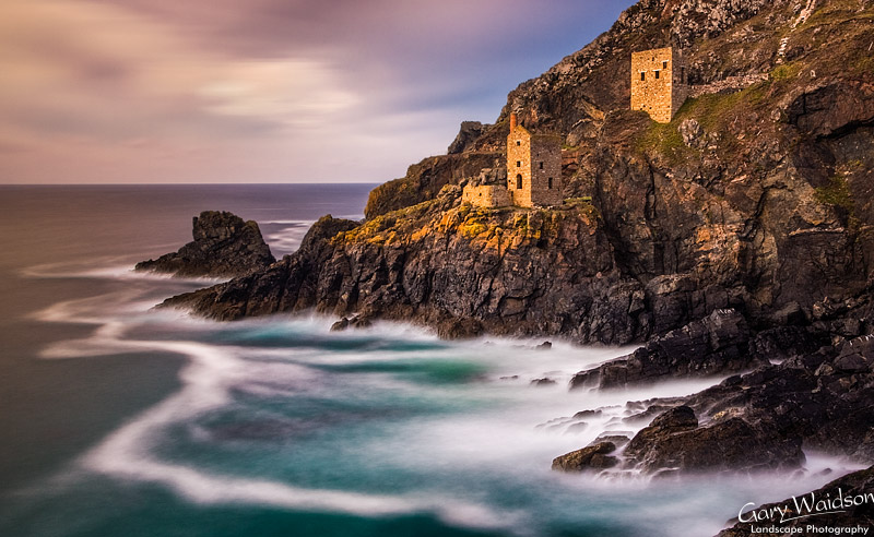 Tin mines at Botallack Head. Cornwall. Fine Art Landscape Photography by Gary Waidson