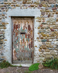 Cockersand Farm Door