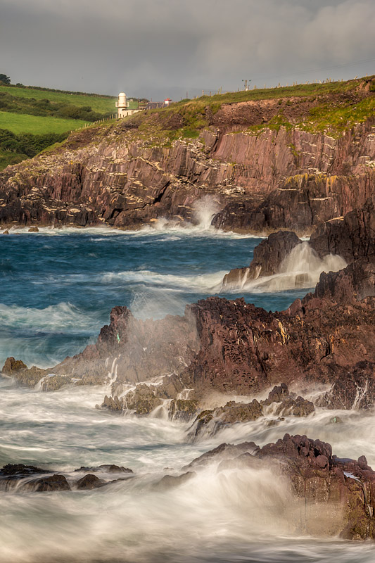 Dingle Harbour Light - Waylandscape. Fine Art Landscape Photography by Gary Waidson