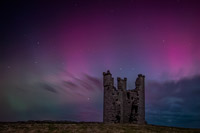 Dunstanborough - Aurora Borealis.