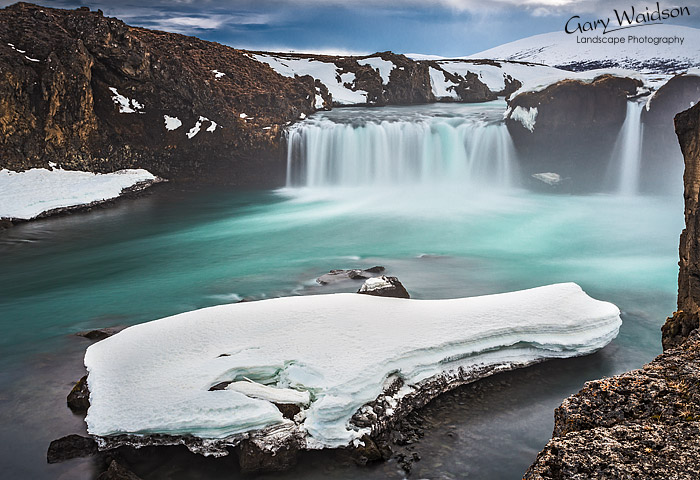 Goðafoss (Godafoss), Iceland - Photo Expeditions - © Gary Waidson - All Rights Reserved