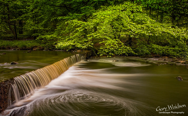 Hebden Water, Yorkshire. Landscape photography by Gary Waidson.
