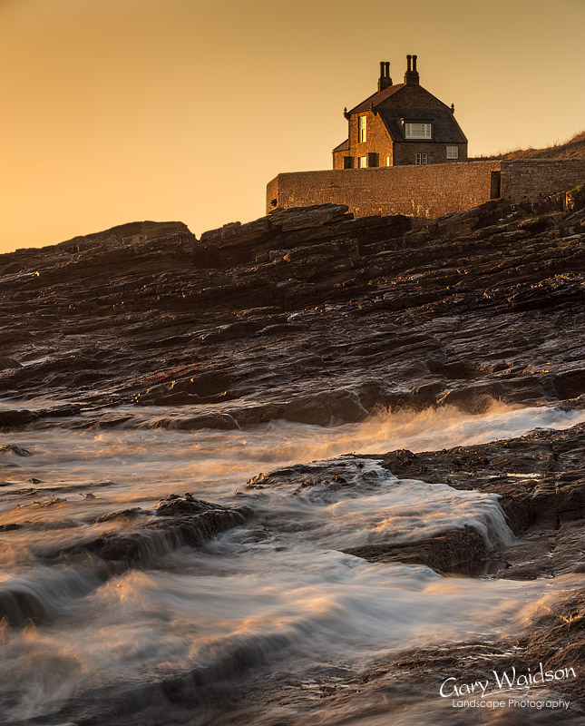 Howick Dawn.  Fine Art Landscape Photography by Gary Waidson