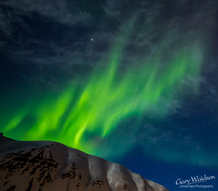 Icelandic Aurora, Iceland - Photo Expeditions - © Gary Waidson - All Rights Reserved