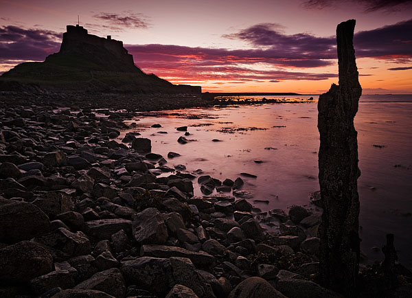 Last Post Lindisfarne. Fine Art Landscape Photography by Gary Waidson