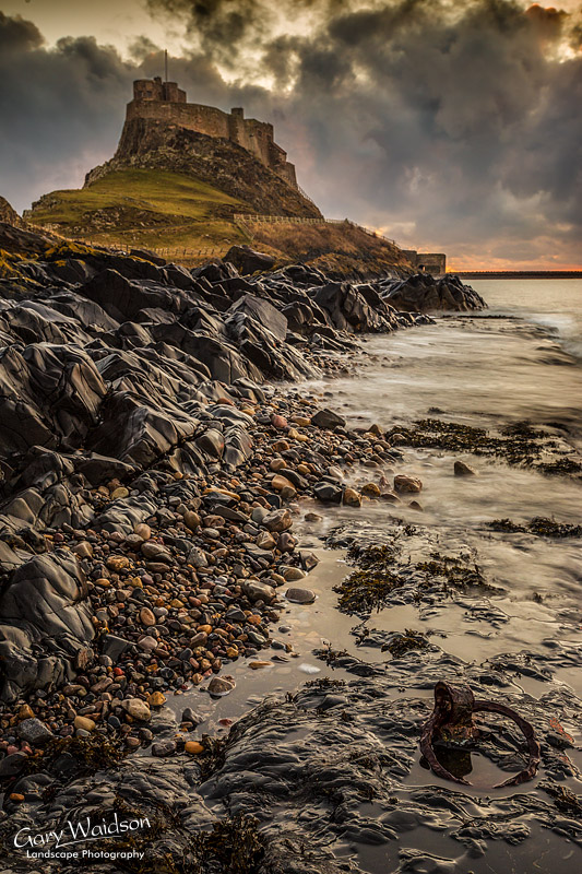 Lindisfarne Castle Morning - Fine Art Landscape Photography by Gary Waidson
