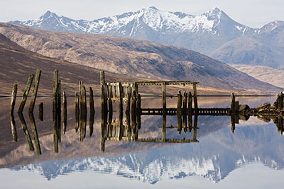 Loch Etive Jetty. Fine Art Landscape Photography by Gary Waidson