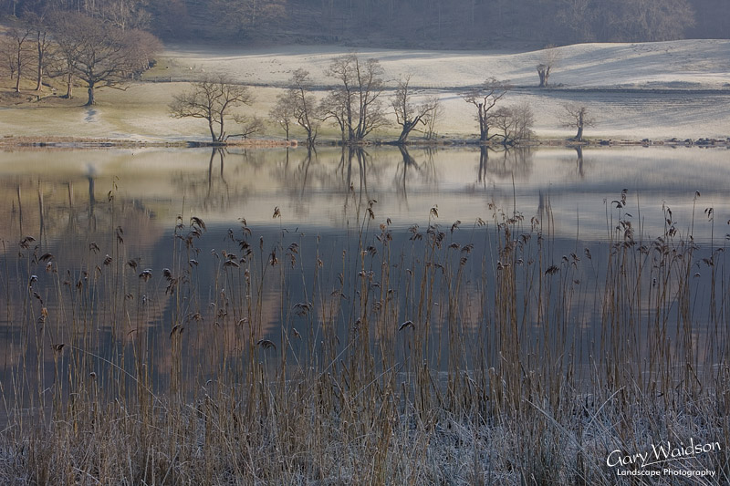 Loughrigg Tarn. Cumbria. Fine Art Landscape Photography by Gary Waidson