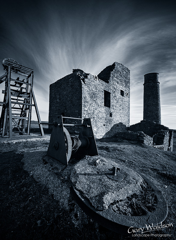 Magpie Mine. Fine Art Landscape Photography by Gary Waidson