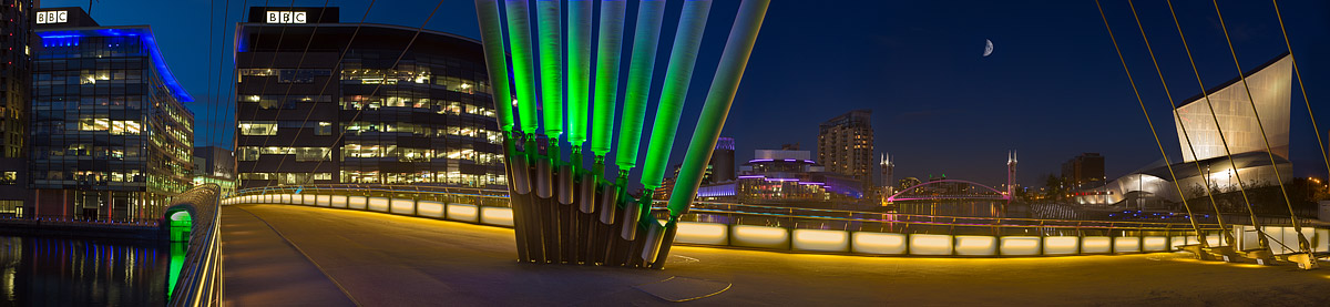 Media City and Salford Quays. Fine Art Landscape Photography by Gary Waidson