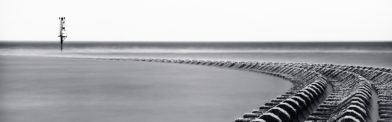 New Brighton Curve.  Fine Art Landscape Photography by Gary Waidson