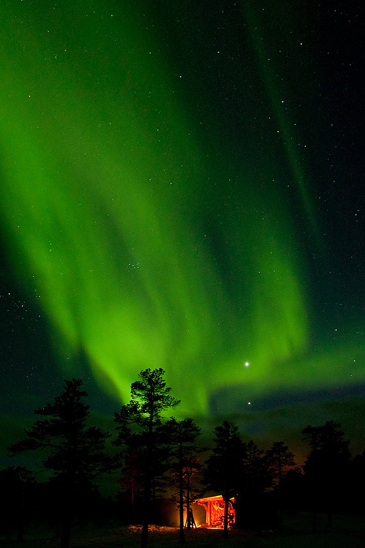 Northern-Lights-over-Norwegian-Shelter
