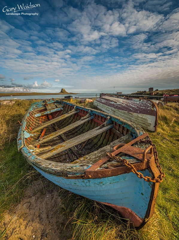 Old Lindisfarne Boat - Fine Art Landscape Photography by Gary Waidson