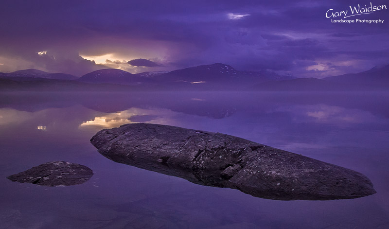 Freshwater Lake. Northern Norway. Fine Art Landscape Photography by Gary Waidson