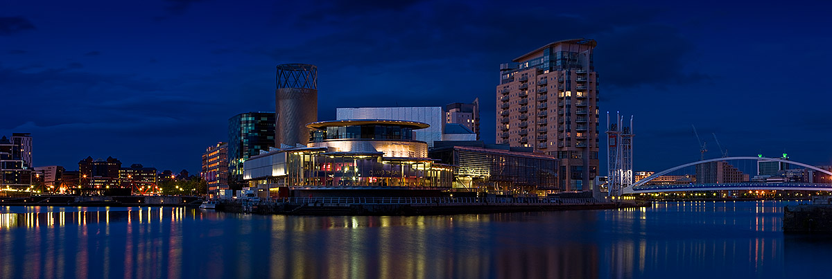 Salford Quays. Fine Art Landscape Photography by Gary Waidson