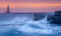 Seaburn. Dawn is a very productive time for landscape photographers.