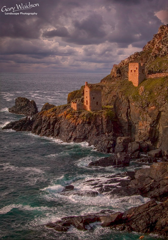 Tin Mines at Botallack Head. Fine Art Landscape Photography by Gary Waidson