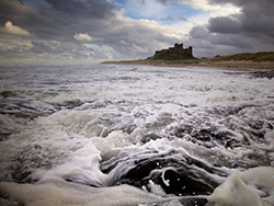 Bamburgh Castle (Old shot). Fine Art Landscape Photography by Gary Waidson